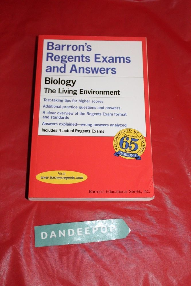 Barron's Regents Exams and Answers: Biology : The Living ...