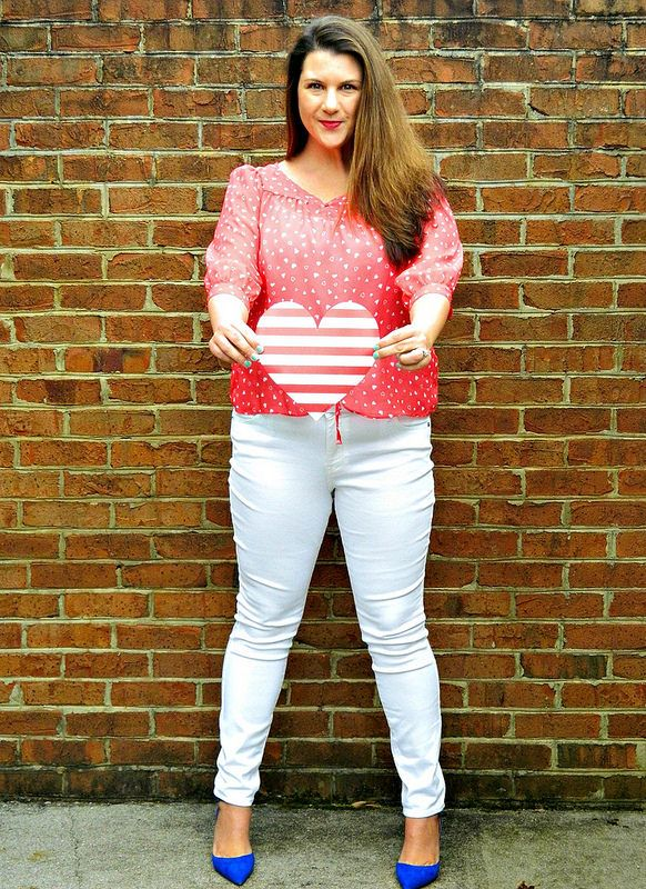 Red and White- classic Valentine's Day by A Fashion Fixation blog