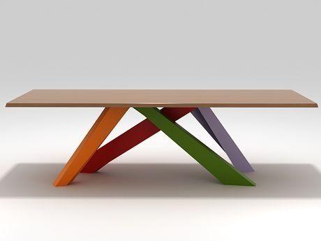 Big Table 3d model by Design Connected Mesas de comedor