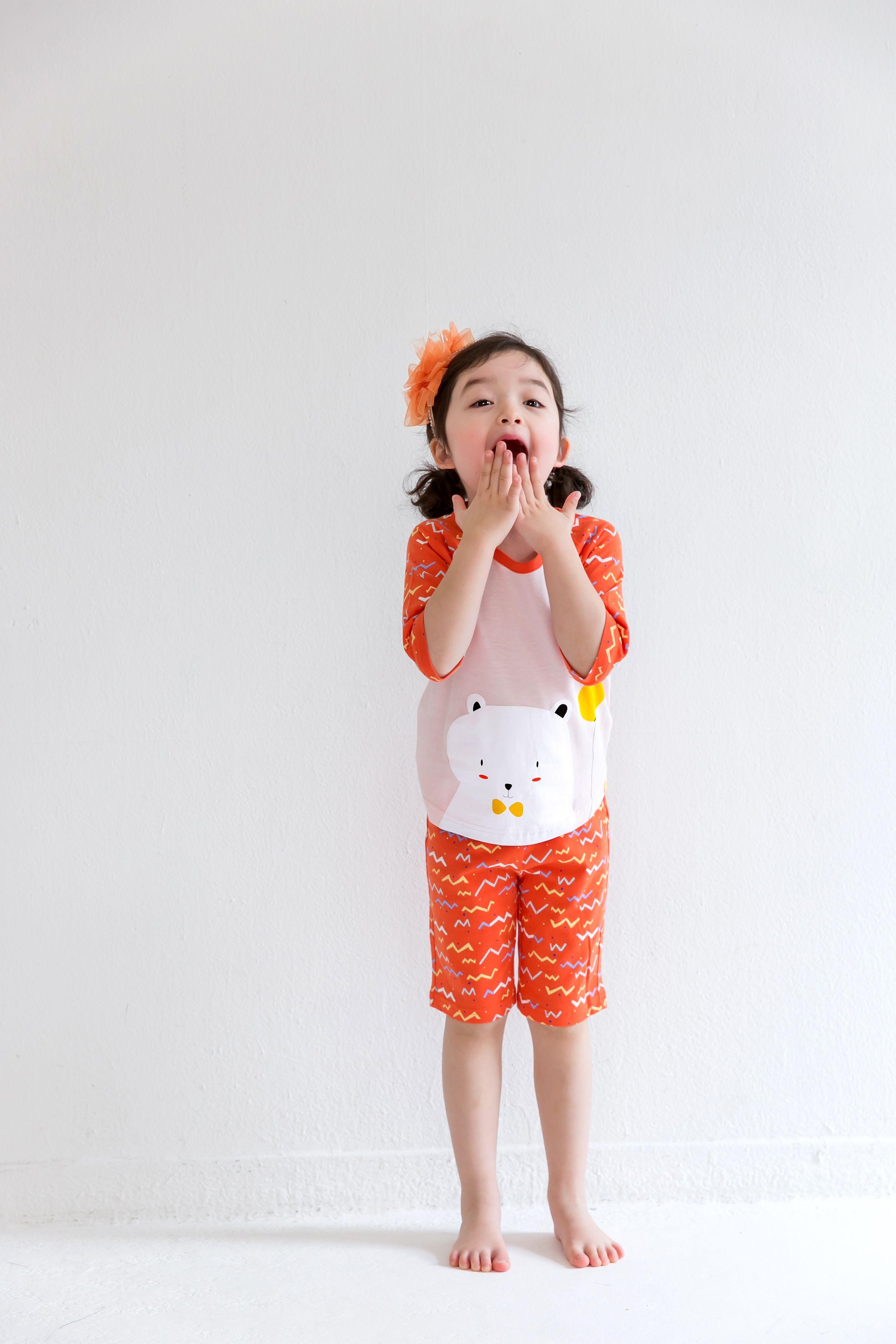 8a765b8f5171 Vaenait Baby Kids Girls Short Sleeve Sleepwear Pajama