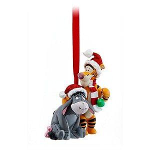 Disney Christmas Figurine Ornament Eeyore And Tigger Disney Christmas Ornaments Disney Christmas Christmas Ornaments