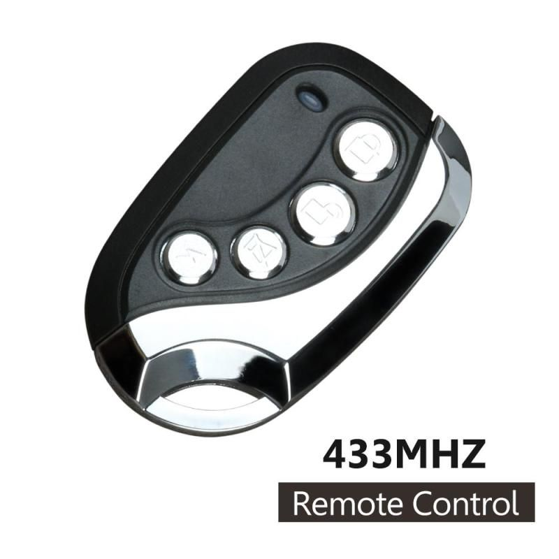 Universal 433mhz Rf 4 Channel Wireles Remote Control Copying Transmitter Duplicating Cloning Fun Remote Control Light Remote Control Garage Door Remote Control
