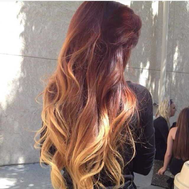 Long ombre