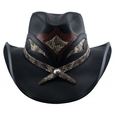 Storm Rock Star Cowboy Leather Western Hat