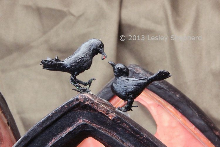 Download How to Make an Origami Crow for Halloween   Miniature animals, Halloween miniatures, Miniatures