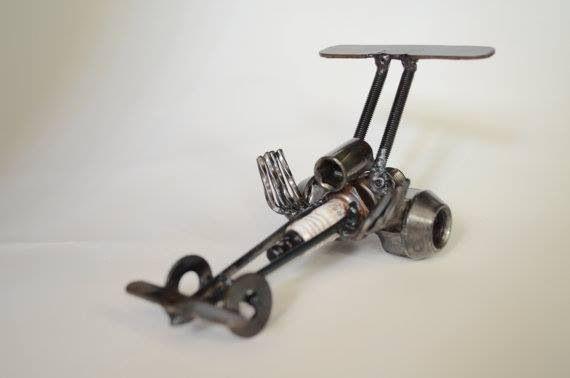 Hand Made Top Fuel Dragster Metal Art For Sale On Etsy Ldsmetal Svetskonst