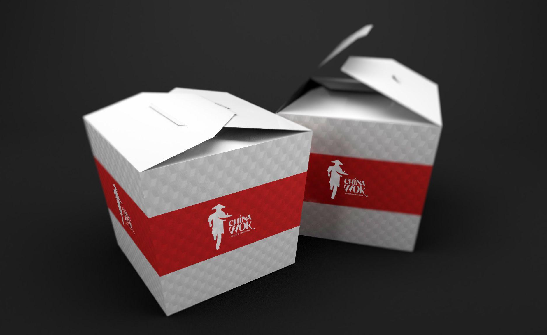 Food Box China Wok Branding Mockups Psd Branding Mockup Psd Free Branding Mockups