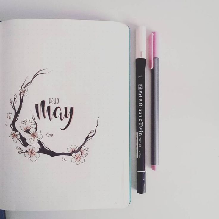 Photo of 11 Gorgeous May Bullet Journal Cover Page Ideas to Inspire You