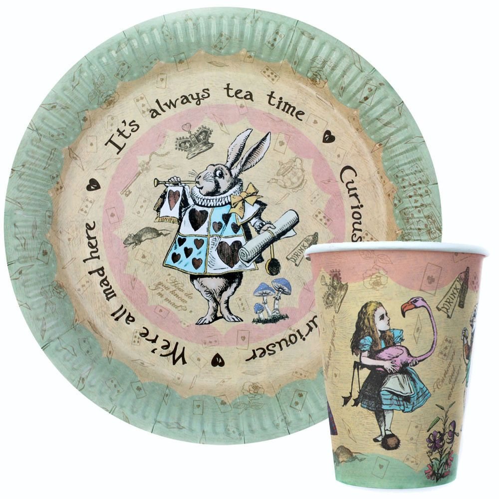 Vintage Alice In Wonderland Party / Mad Hatters Tea Party