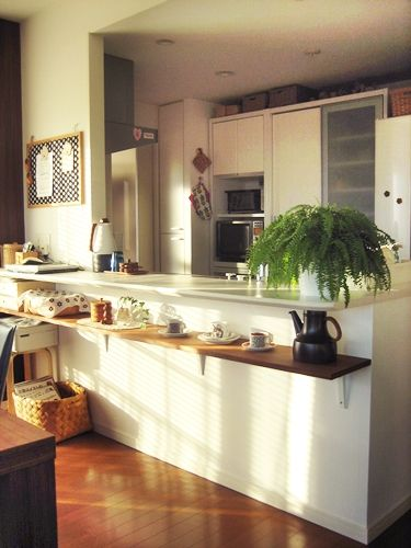 第151回 木の色をベースに温もりある北欧空間 キッチン