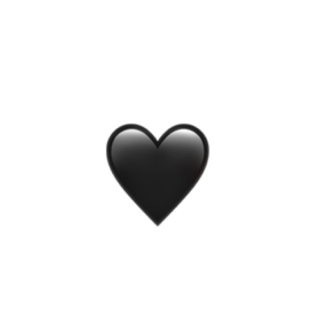 Popular And Trending Love Stickers Black Heart Emoji Heart Emoji Emoji Wallpaper