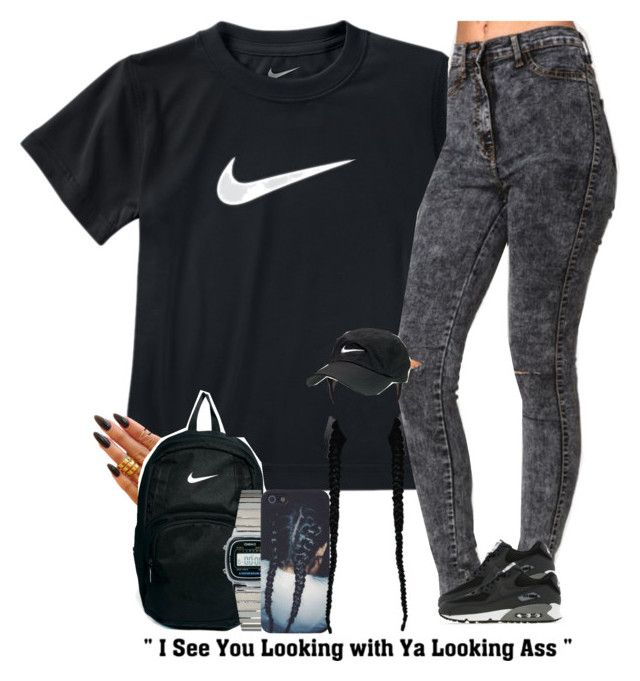 """Happy Father's Day! - 6/21/15"" by asilversmile ❤ liked on Polyvore featuring NIKE, KEEP ME and Casio"