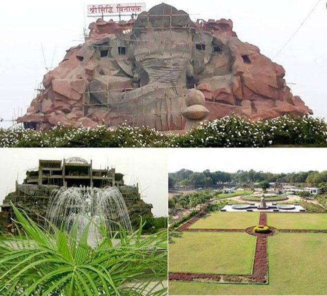 Siddhivinayak temple....Ahmedabad . | Siddhi, Natural landmarks, Temple