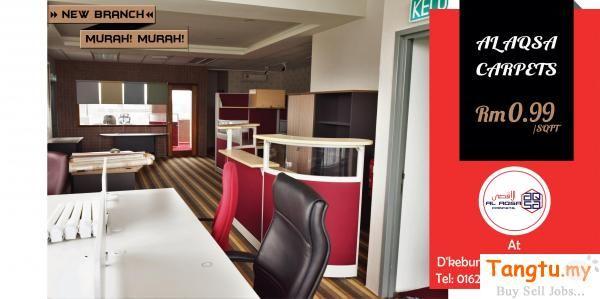 Alaqsa Carpets Cawangan Baru Di Pusat Perniagaan Dkebun