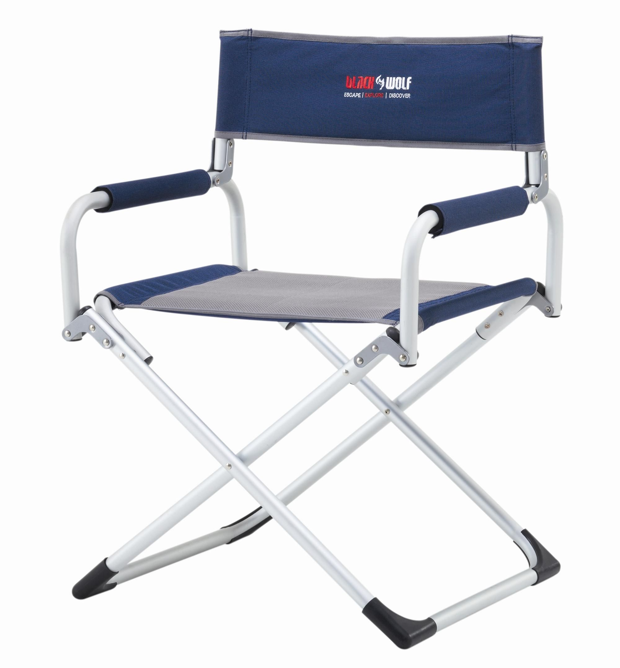 Black Wolf turbo directors chair compact and comfortable