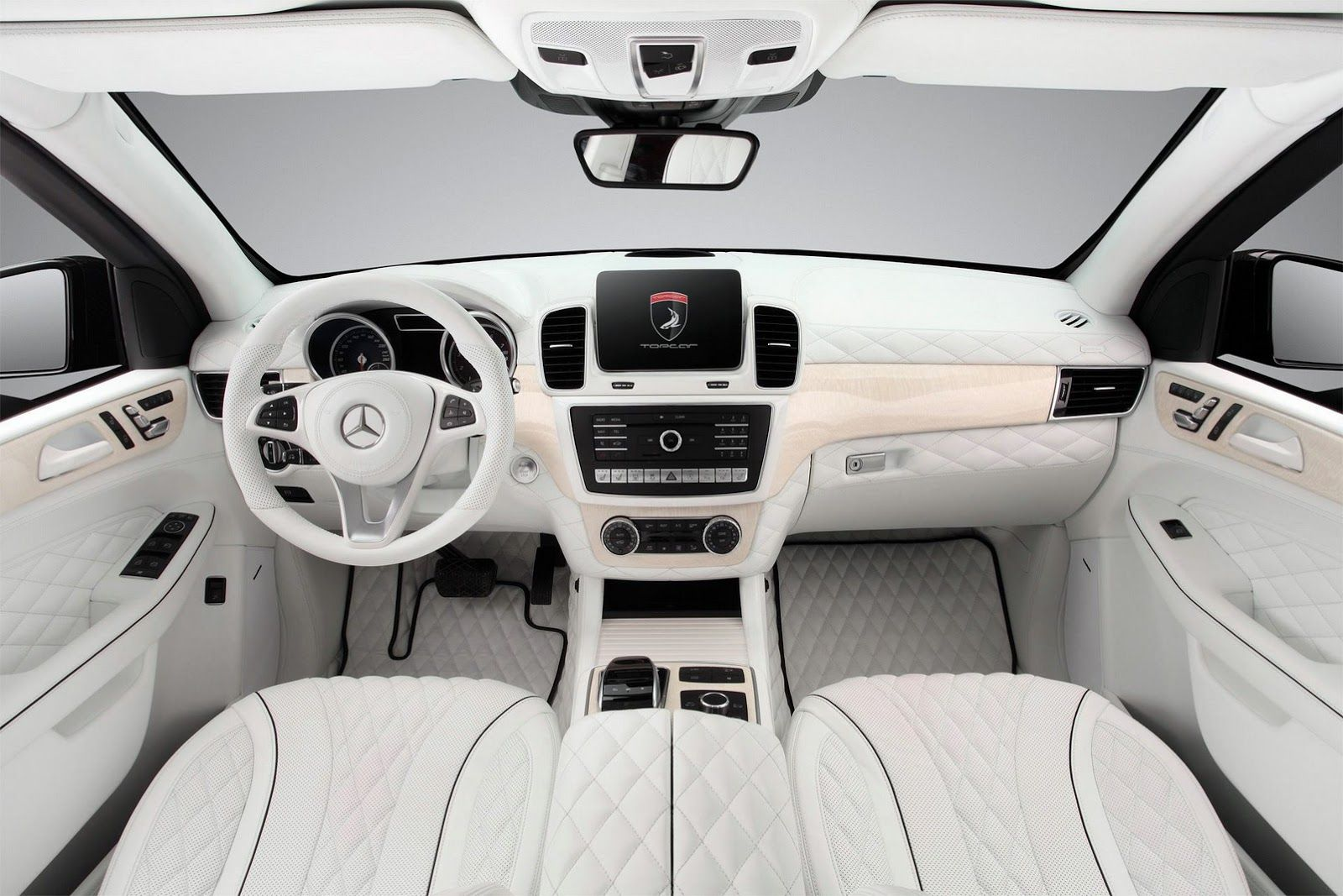 Topcar Shows Off All White Interior For Armoured Mercedes Gle