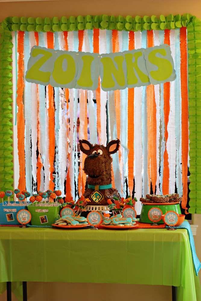 Scooby Doo Birthday Party Ideas Birthday party ideas and Birthdays