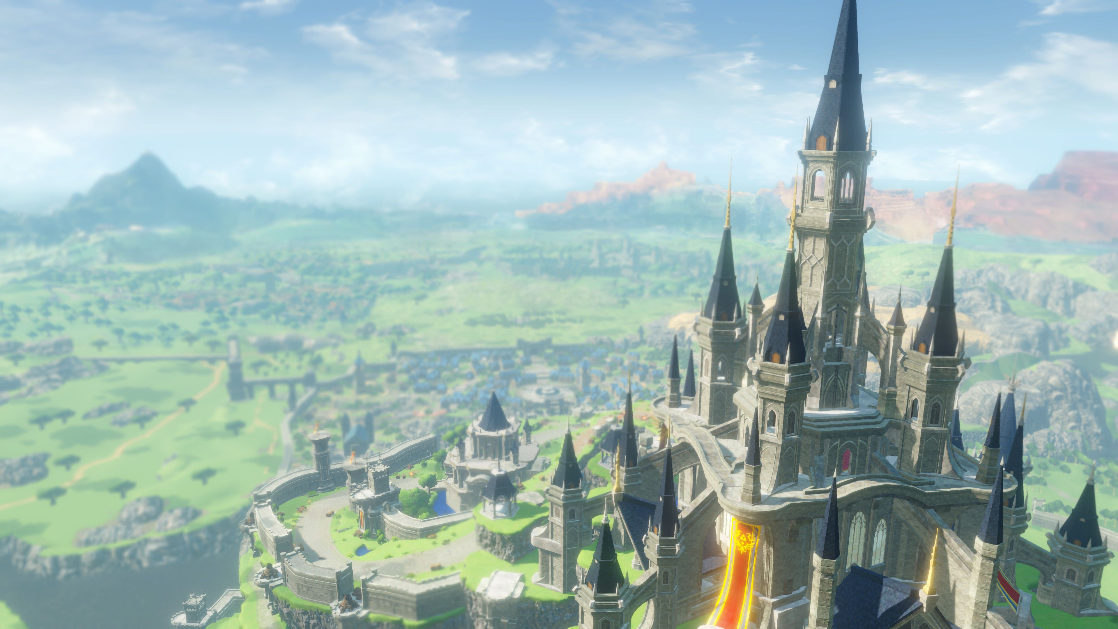 Legend Of Zelda Breath Of The Wild Hyrule Castle News In This Year