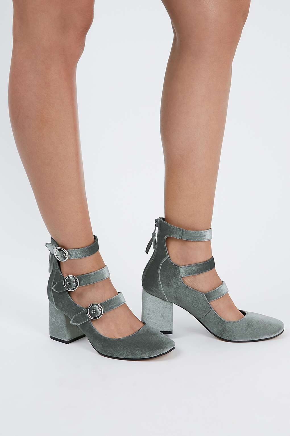 JOJO Multi Buckle Shoes