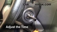 2009 Chevrolet Aveo Ls 1 6l 4 Cyl Clock Chevrolet Aveo Cabin