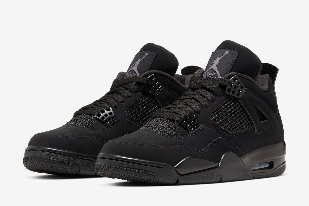 """Air Jordan 4 Retro """"Black Cat"""" / 2020 Release Date Air"""
