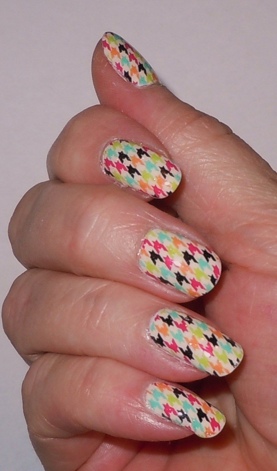 full nail water decals made this the easiest manicure ever!