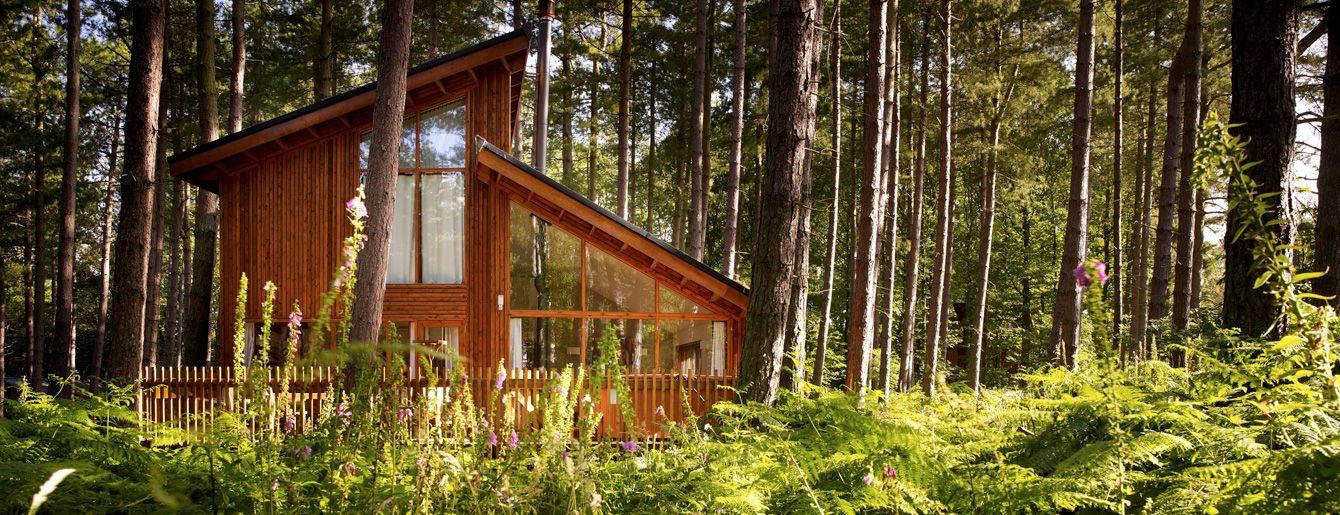 Luxury Forest Of Dean Log Cabin With Hot Tub Sleeps 4 6 2 3 Rooms Valley Cottage Holidays In England Holiday Cottage