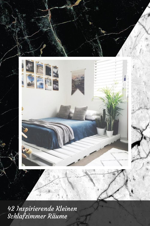 Awesome 42 Inspirierende Kleinen Schlafzimmer Räume   42 Bedroom Inspiring Permalink  ...