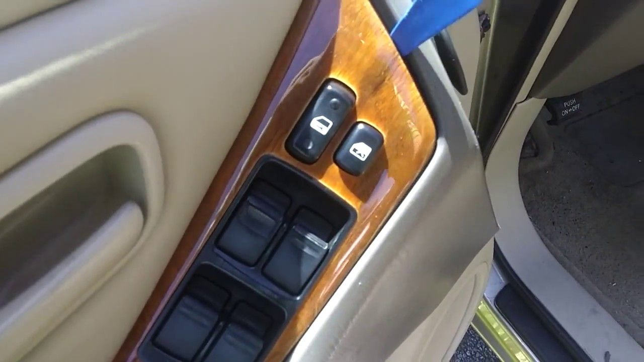 99 03 Lexus Rx300 Driver S Door Panel Window Switch Removal Panel Doors Lexus Paneling