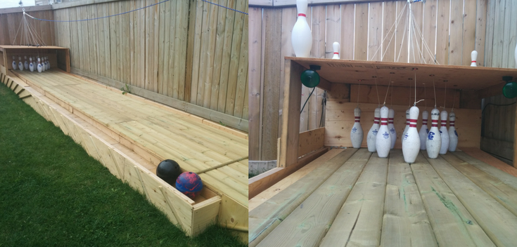 How To Build Your Own Backyard Bowling Alley   Home design ...