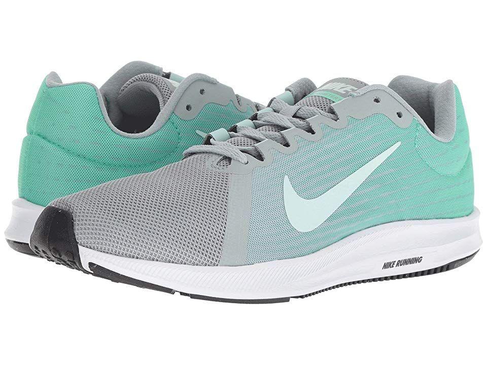 6ddaef164 Nike Downshifter 8 (Light Pumice/Igloo/Green Glow/White) Women's Running