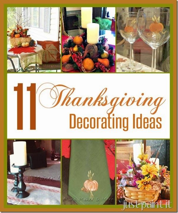 36 Thanksgiving Decorating Ideas And Traditional Recipes: Thanksgiving Decorating Ideas And A Virtual Progressive