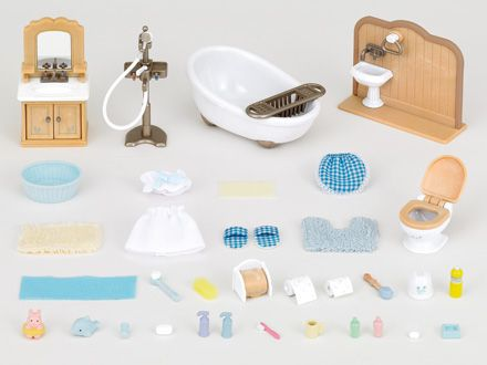 Sylvanian Families furniture toilet set mosquito 606 From Japan