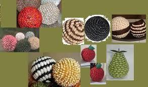 Resultado De Imagen Para Manualidades Hechas Con Granos De Maiz Crafts Ball Ale