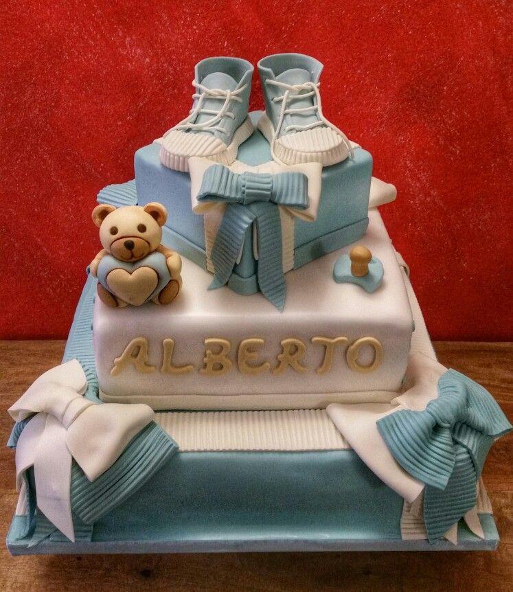 Orsetto Thun Torta Battesimo Torte Per Battesimo Torte Bomboniere