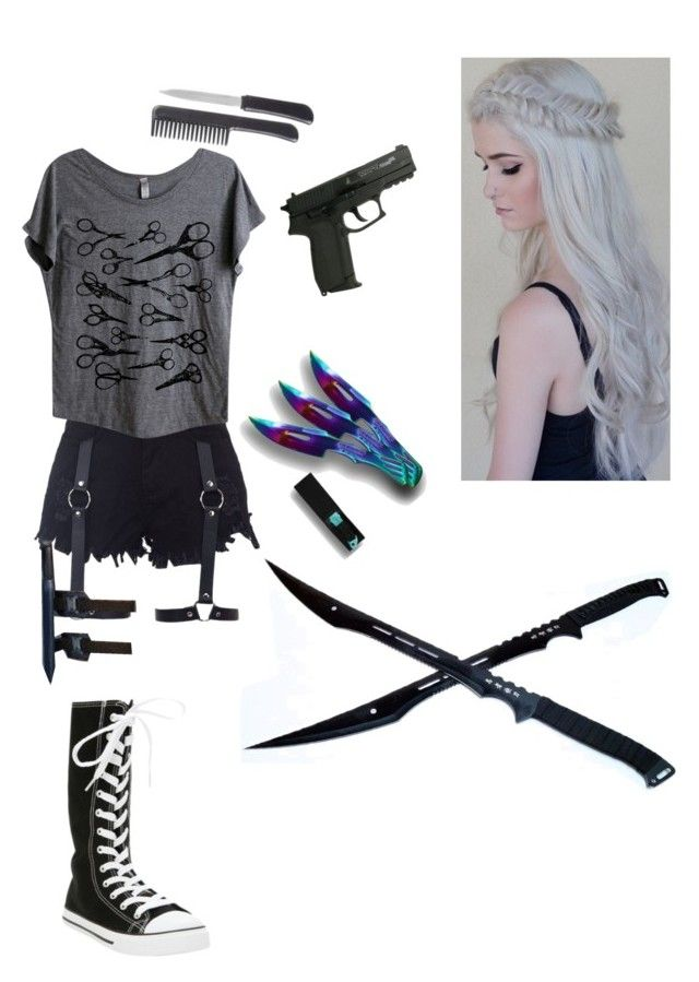 """Zombie Apokalypse"" by ezra0 ❤ liked on Polyvore featuring Mad Love, women's clothing, women's fashion, women, female, woman, misses and juniors"