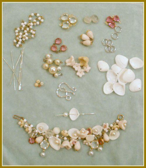 Seashell Bracelet #handmade #jewelry