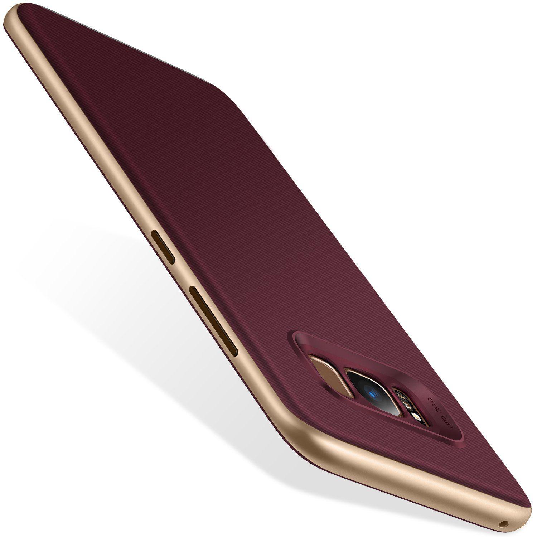 uk availability ae2df a3fc9 Galaxy S8 Case, TORRAS 2 in 1 Hybrid Anti Fingerprint Slim Fit Soft ...