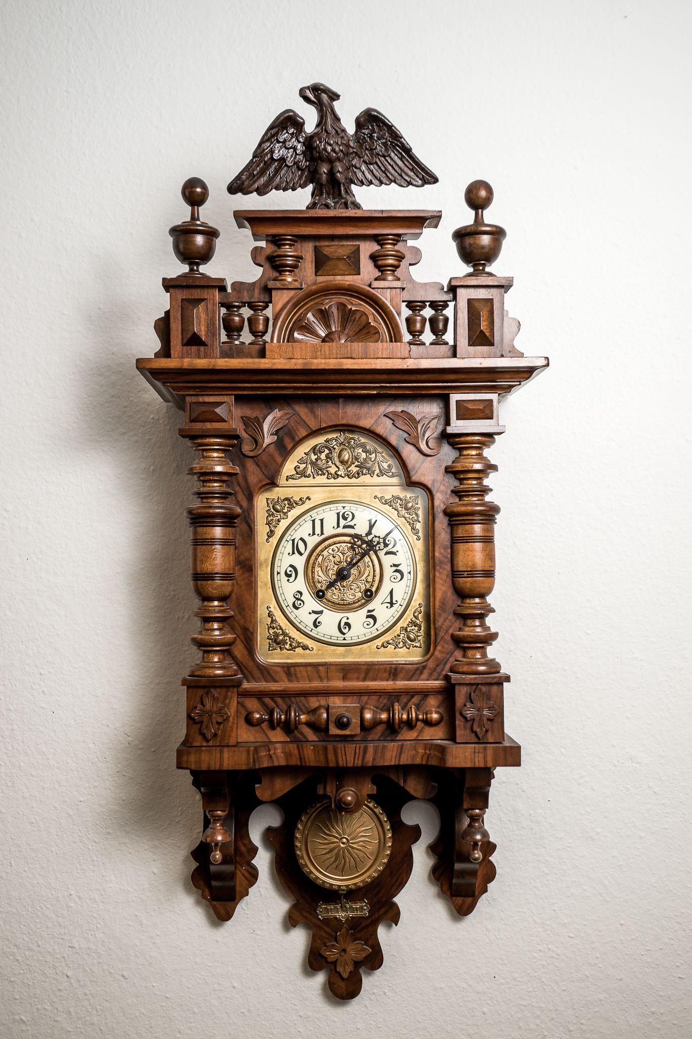 Uhren Stilvolle Gr 252 Nderzeit Antiquit 228 Ten Zegary Alte
