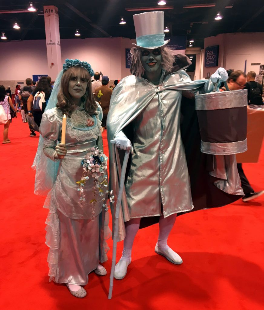 The Bride And Hatbox Ghost Haunted Mansion Haunted Mansion Costume Family Halloween Costumes Halloween Movies List
