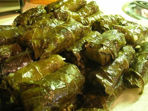 Anything Wrapped In Grape Leaves..Greek Food