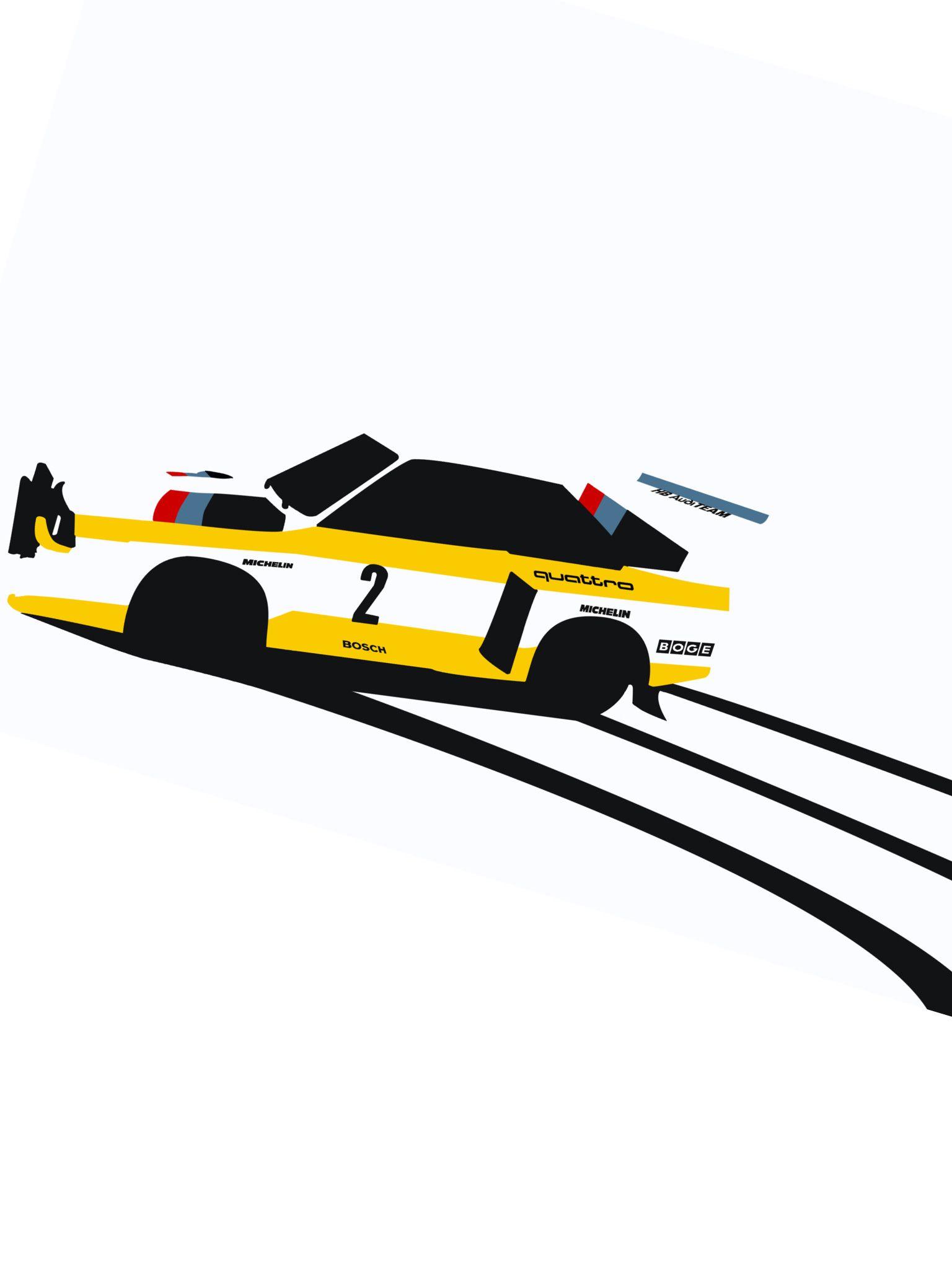 Audi Quattro S1 Wallpaper Art Cars Car Illustration Audi Quattro