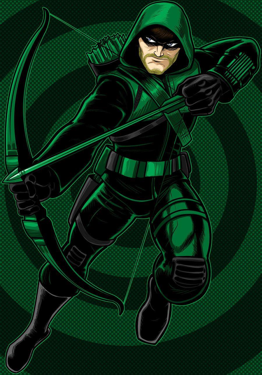 картинки зеленой стрелы своих страницах сети