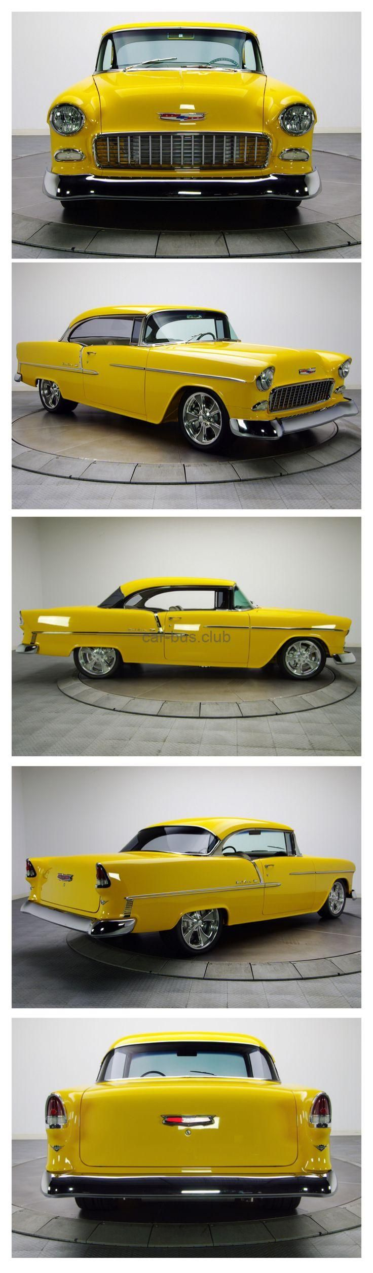 1955 Chevy Belair bus automobile automobiles we're