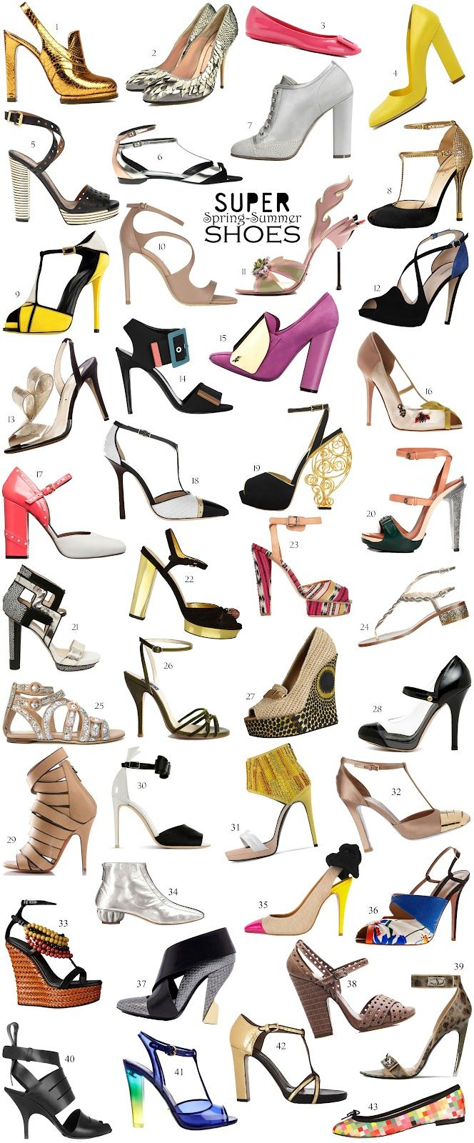 Fashion Zoom: Super Spring-Summer Shoes 2012 - ElectroMode