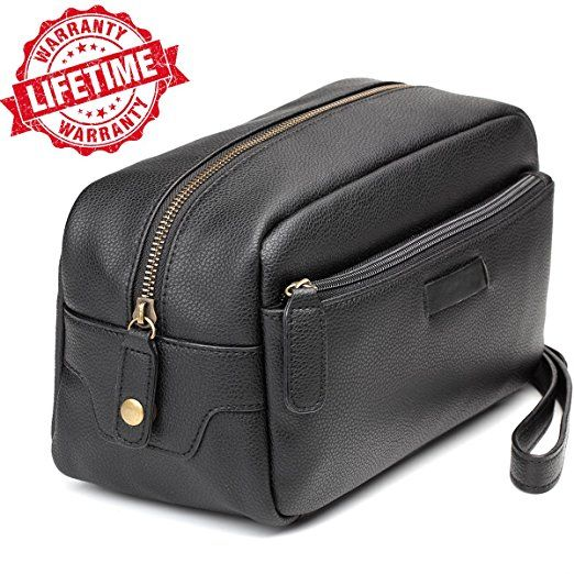 07e5d17164 Toiletry Bag-Leather Toiletry Bag Dopp Kit – Mens Toiletry Bag ...
