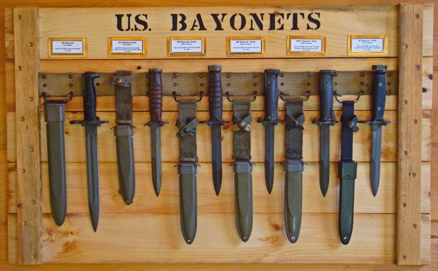 Collections Military Shadow Box Knife Military Knives