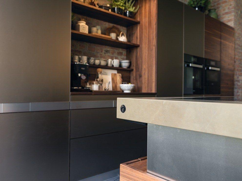 Solid wood kitchen with island k7 by team 7 natürlich wohnen design kai stania