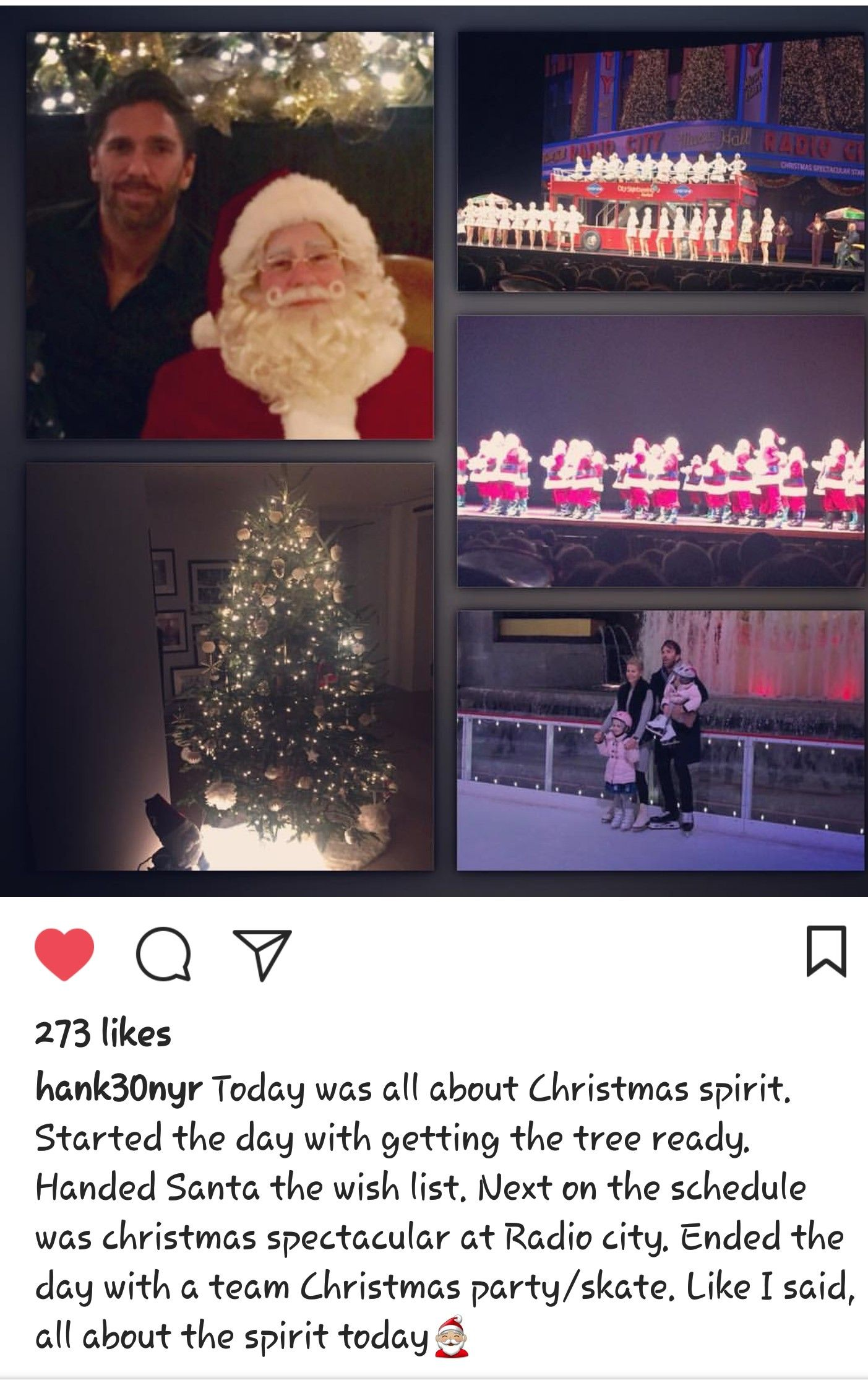 Lundqvist Starting Christmas Season With Family Lundqvist 4ever