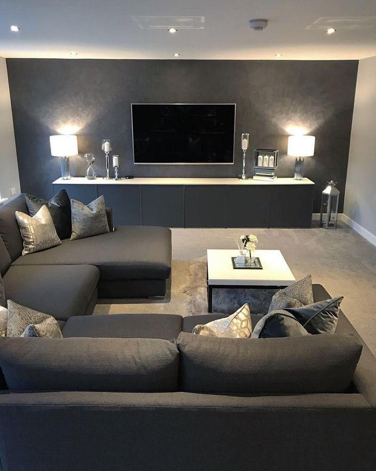 54 Das beste Wohnzimmer-Innendesign das Sie in Ihrem Zuhause ausprobieren können  #Design   54 Das beste Wohnzimmer-Innendesign das Sie in Ihrem Zuhause ausprobieren können  #Design #Zuhause #Innere #Leben #Wohnzimmer  Möbel in der Moderne  Vor der innovativen Designbewegung im 19. Jahrhundert wurden Möbel auf komplexe Weise ohne Funktionalität entworfen. Möbel waren nur für Design und ästhetisches Aussehen. Die Uhr die für die Herstellung dieser Möbel ausgegeben wurde bestimmte den Wert der Möb